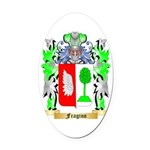 Fragino Oval Car Magnet