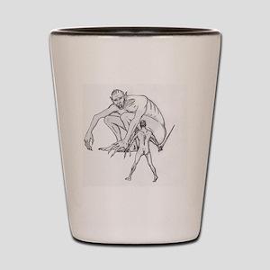 Beowulf Shot Glass