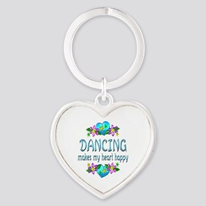 Dancing Heart Happy Heart Keychain