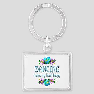 Dancing Heart Happy Landscape Keychain