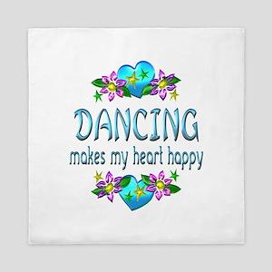 Dancing Heart Happy Queen Duvet