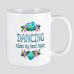 Dancing Heart Happy Mug