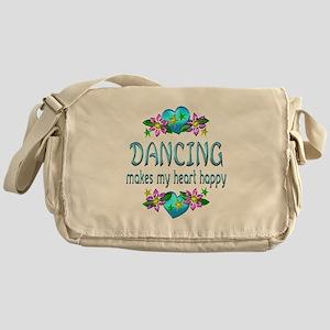 Dancing Heart Happy Messenger Bag