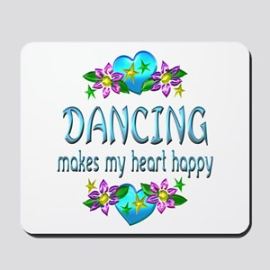 Dancing Heart Happy Mousepad