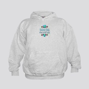 Dancing Heart Happy Kids Hoodie