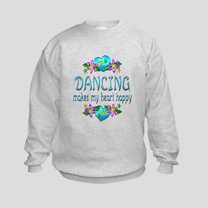 Dancing Heart Happy Kids Sweatshirt