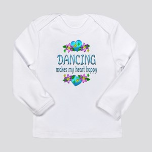 Dancing Heart Happy Long Sleeve Infant T-Shirt