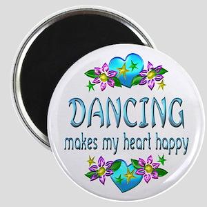 Dancing Heart Happy Magnet