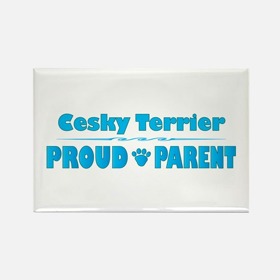 Cesky Parent Rectangle Magnet