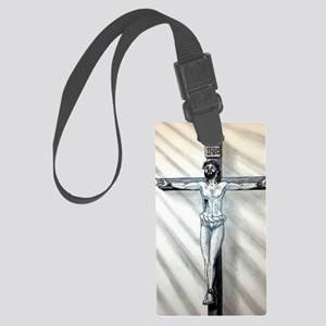 For give them father Large Luggage Tag