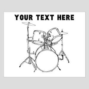 Custom Drum Set Poster Design