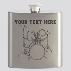 Custom Drum Set Flask