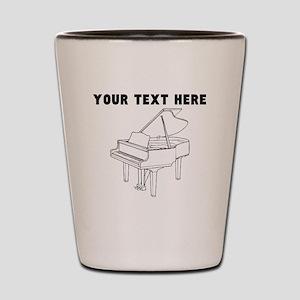Custom Piano Shot Glass