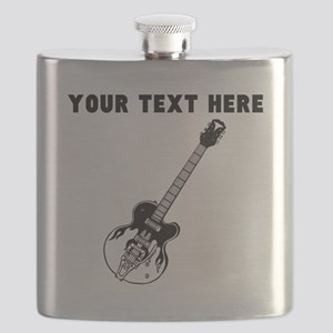 Custom Electric Guitar Flask