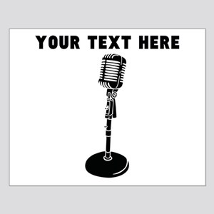Custom Radio Microphone Poster Design