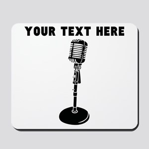 Custom Radio Microphone Mousepad