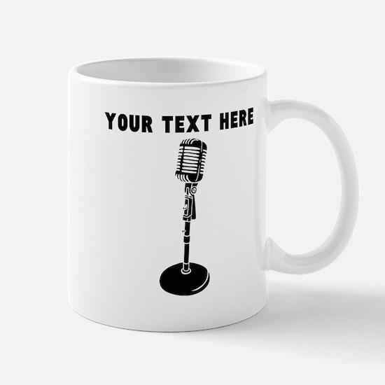 Custom Radio Microphone Mugs