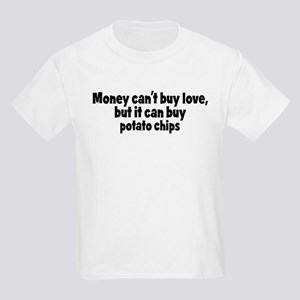 potato chips (money) Kids Light T-Shirt