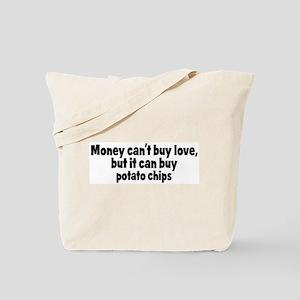 potato chips (money) Tote Bag