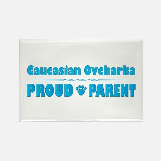 Caucasian Parent Rectangle Magnet (10 pack)