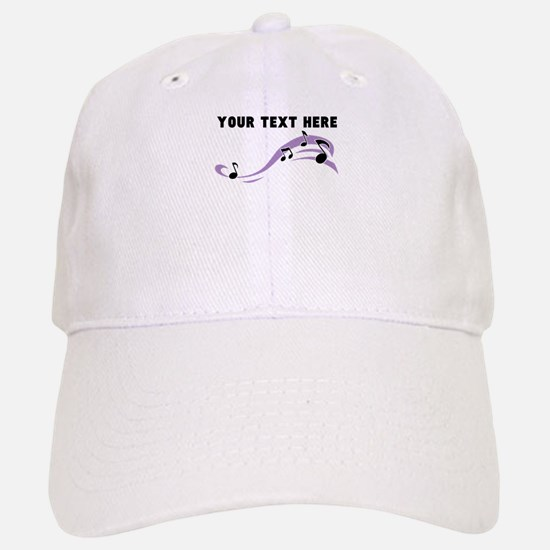 Custom Music Notes Baseball Baseball Cap