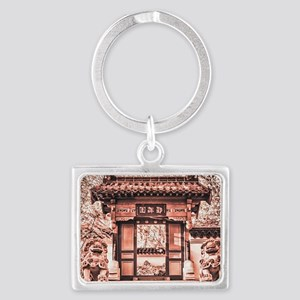 The Chinese Gate Keychains