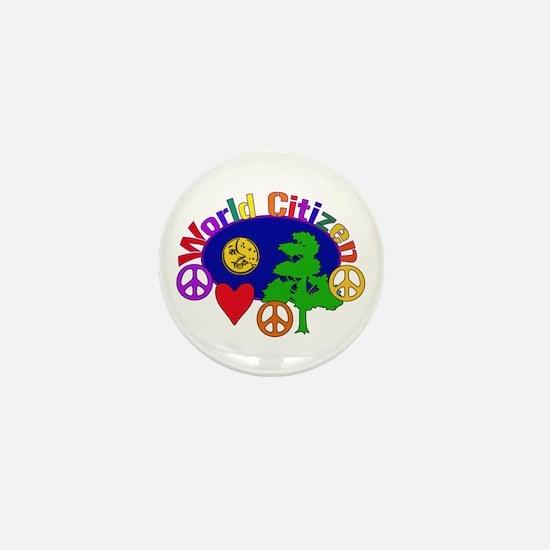 Citizen Of One World Mini Button
