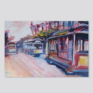 San Francisco Cable Cars Postcards (Package of 8)