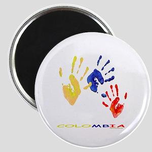 Colombian hands Magnet