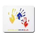 Colombian hands Mousepad