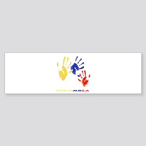 Colombian hands Sticker (Bumper)