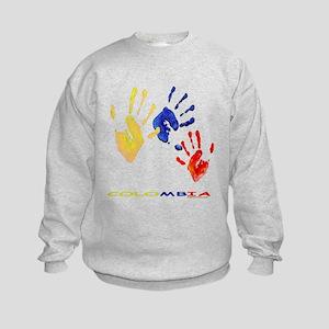 Colombian hands Kids Sweatshirt