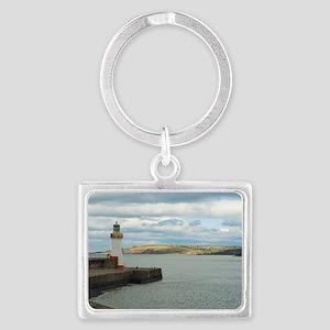 whitehaven lighthouse Landscape Keychain