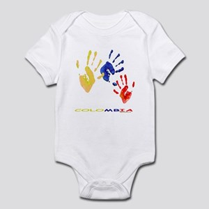Colombian hands Infant Bodysuit