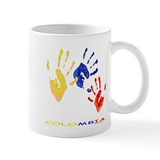 Colombian hands Mug