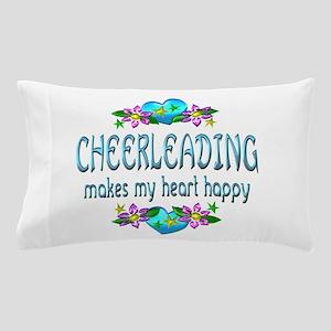Cheerleading Heart Happy Pillow Case
