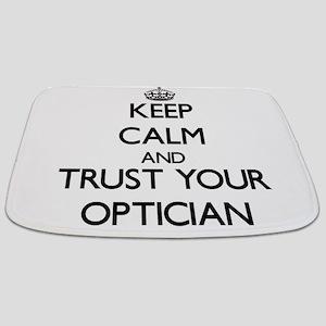 Keep Calm and Trust Your Optician Bathmat