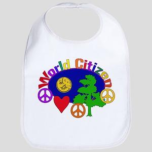World Citizen Cotton Baby Bib