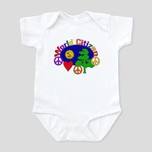 World Citizen Baby Light Bodysuit
