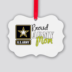 Proud Army Mom Ornament