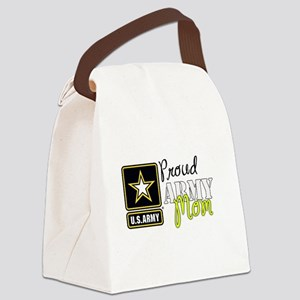 Proud Army Mom Canvas Lunch Bag