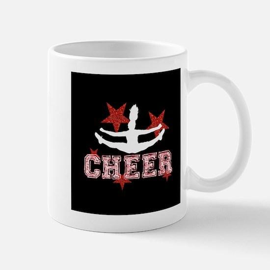 Cheerleader black and red Mugs
