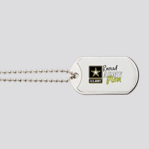 Proud Army Mom Dog Tags