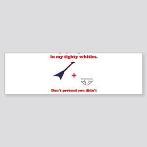 Air Guitar Ambush Bumper Sticker