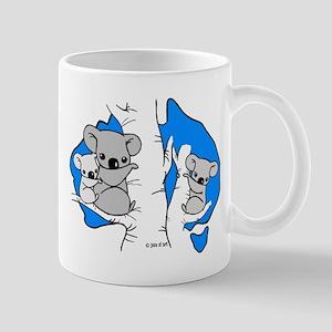 Koala Bears (Blue) 11 oz Ceramic Mug