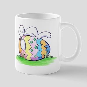 Sleeping Easter Bunny Mugs