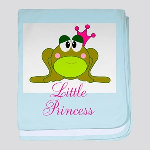 Little Princess Frog baby blanket