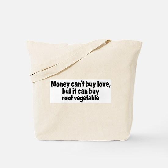 root vegetable (money) Tote Bag