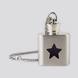 Polkadots Jewels 1 Flask Necklace