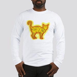 Chinese food cat Long Sleeve T-Shirt